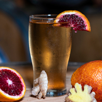 Blood Orange Ginger Cider