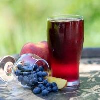 Blueberry Peach Cider