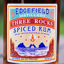 Three Rocks Spiced Rum