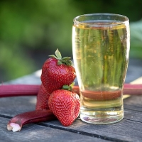 Strawberry Rhubarb Cider